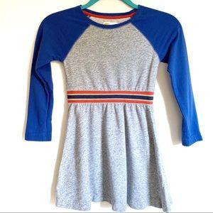 Mini Boden Johnnie B. Raglan Cotton Dress